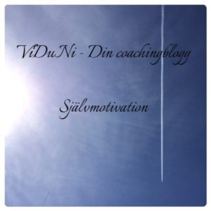Självmotivation i det lilla och i det stora, som när solen skiner och du behöver göra nåt annat.