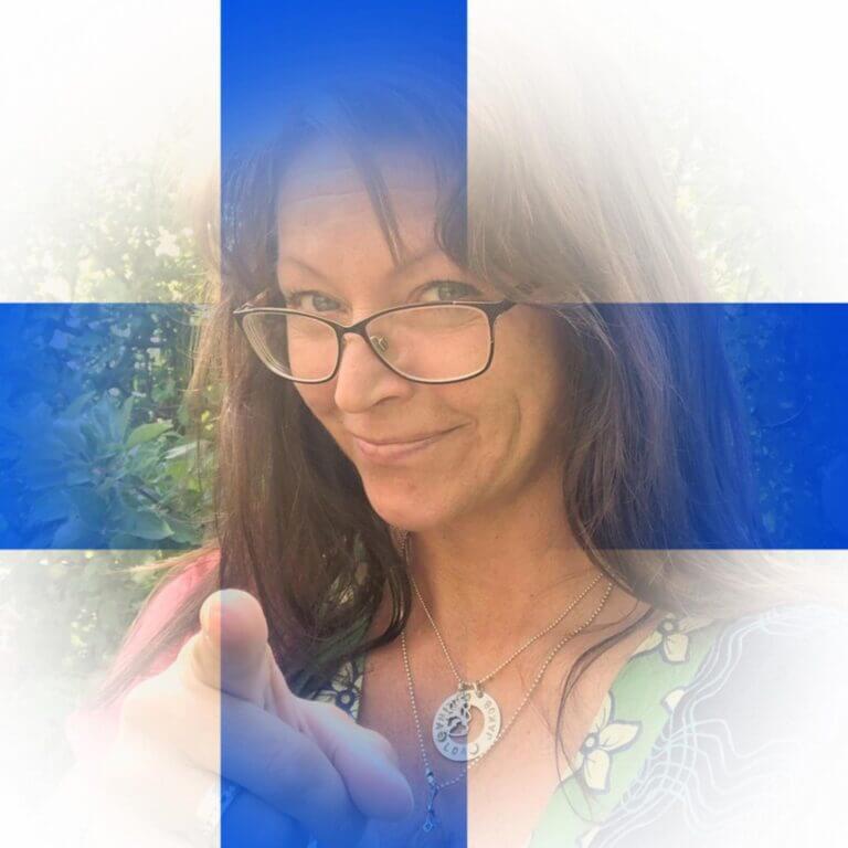 Carina Grönholm, stolt finlandssvensk